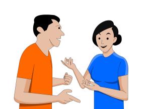 Ablenkung durch Sport oder auch einfach nur Small Talk mit Freunden bringt Entspannung und lindert Stress.