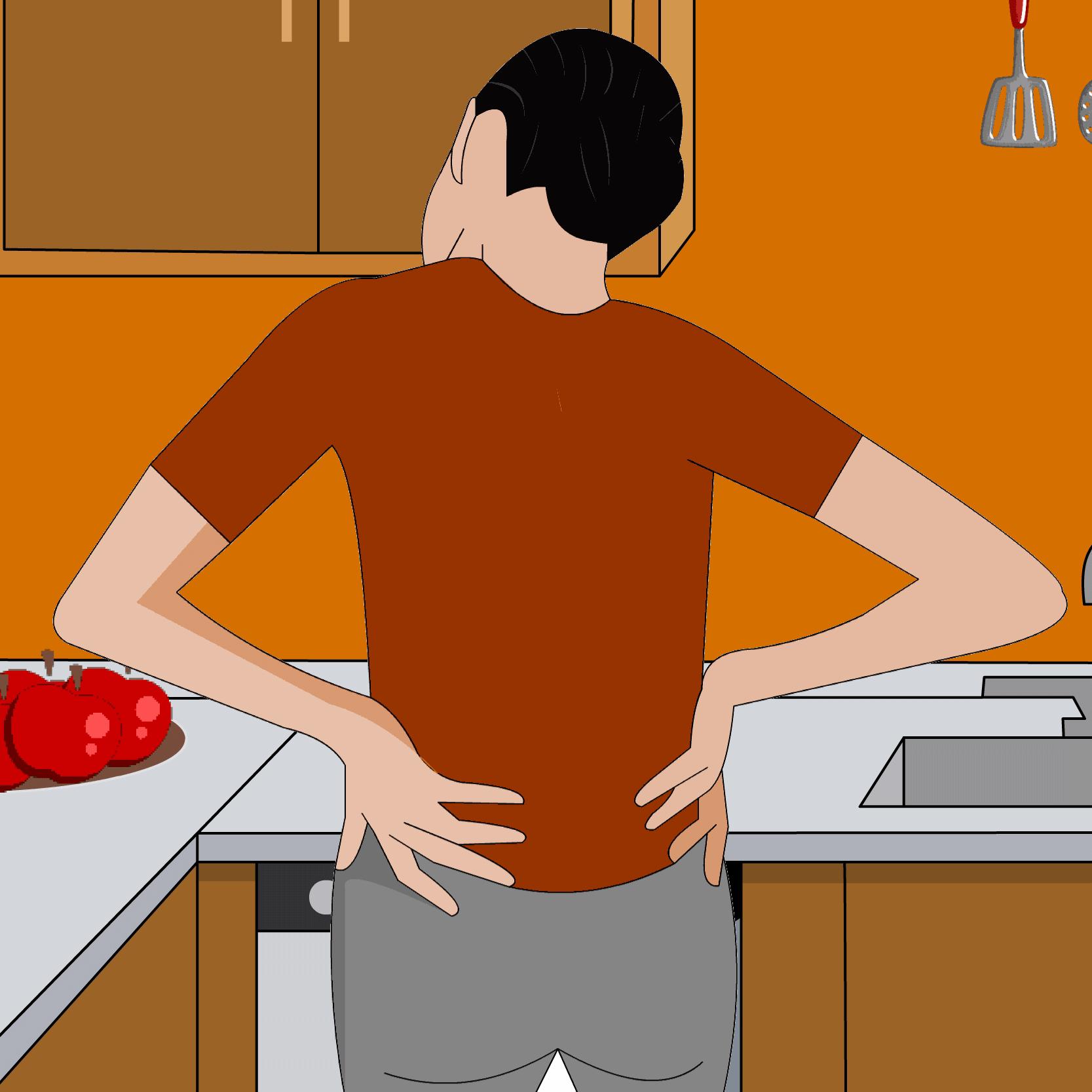 küchenarbeit als häufige ursache für nackenschmerzen - Küche Arbeit