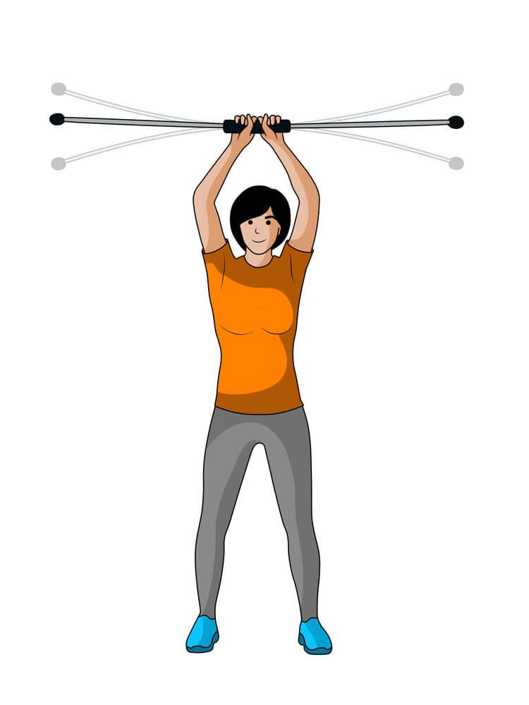 Mit dem Flexibar Nackenschmerzen vorbeugen