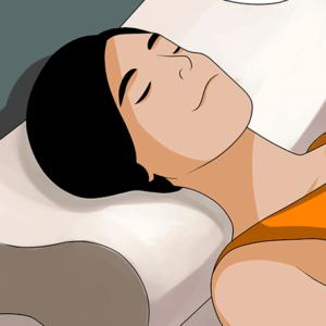 Orthopädische Nackenstützkissen tun genau das, was der Name verspricht. Sie unterstützen den Kopf und den Nacken während dem Schlafen. Dadurch kann sich die Nackenmuskulatur besser erholen und Verspannungen wird vorgebeugt.