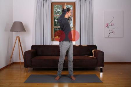 Rumpf mobilisieren mit Oberkörper-Rotation